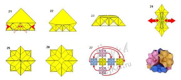 как сделать оригами,