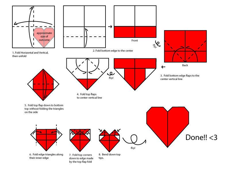 Марен: сделать самому оригами дома
